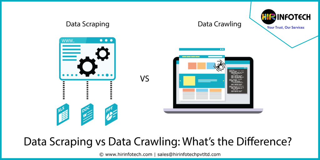 Data Scraping Vs Data Crawling