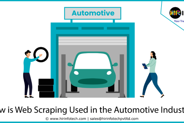 How is Web Scraping Used in the Automotive Industry
